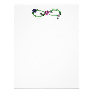 Floral Infinity Letterhead