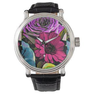 Floral Intensity Design Watch