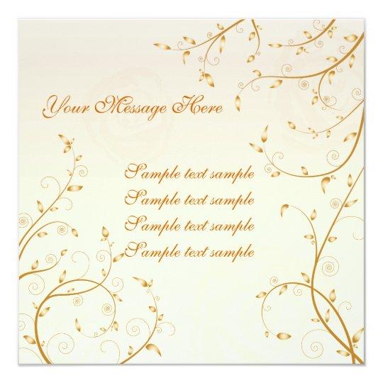Floral Invitation Card 03