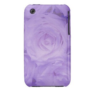 Floral iPhone 3 G / 3GS case Purple roses Case-Mate iPhone 3 Case