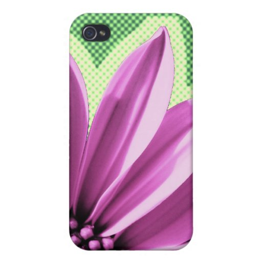 floral iPhone 4/4S funda