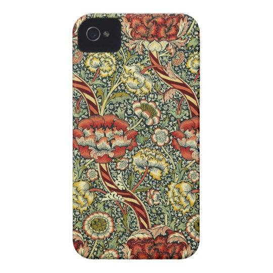 Floral iPhone 4 Case-Mate Case