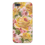 Floral iPhone 5 case  Yellow rose flower