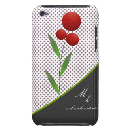 floral iPod touch Case-Mate fundas
