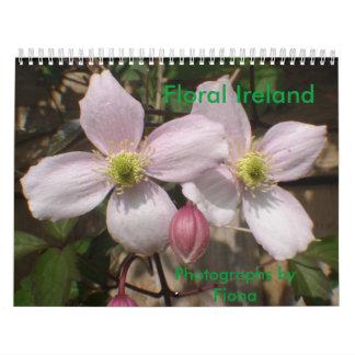 Floral Ireland Calendar