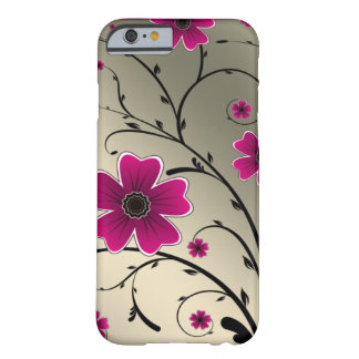 Floral Ivory Pink Barely There iPhone 6 Case