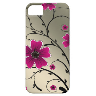 Floral Ivory Pink iPhone 5 Covers