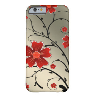 Floral Ivory red iPhone 6 Case