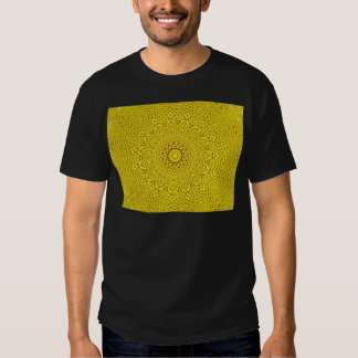 Floral jackfruit scale like pattern tee shirts
