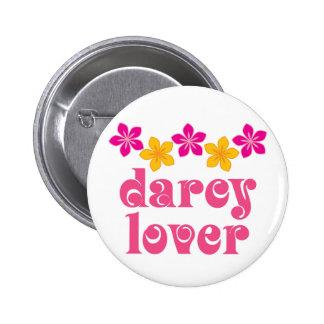 Floral Jane Austen Darcy Lover Gift 2 Inch Round Button