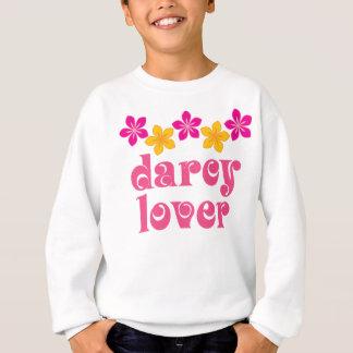 Floral Jane Austen Darcy Lover Gift Sweatshirt