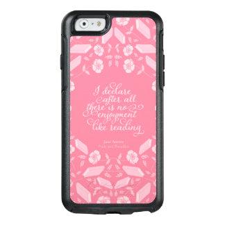 Floral Jane Austen Pride & Prejudice Bookish Quote OtterBox iPhone 6/6s Case