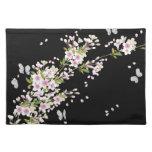 Floral japonés del vintage hermoso de Sakura Mantel