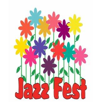 Floral Jazz Fest shirt