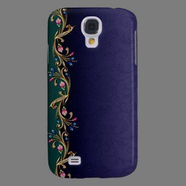 Floral Jewel Garland HTC Vivid Case