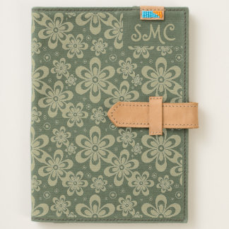 Floral Journal iPad Mini Kindle Case Monogram