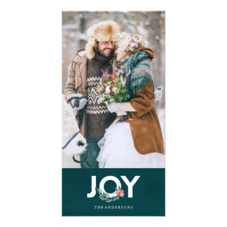 Floral Joy Photo Card