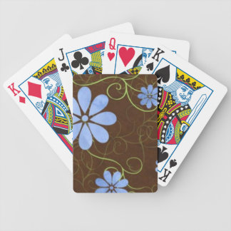 floral.jpg bicycle playing cards