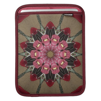 Floral Kaleidoscope iPad Sleeve