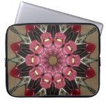 Floral Kaleidoscope Laptop Sleeve