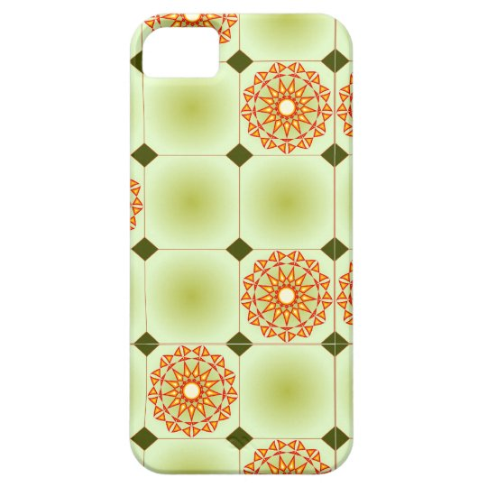Floral Kaleidoscope Pattern iPhone SE/5/5s Case