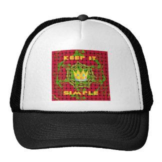Floral Keep it simple Trucker Hat