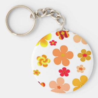 Floral Khoncepts in Gold Keychain