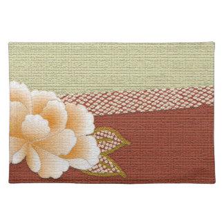 "Floral ""Kimono"" Design Placemats"