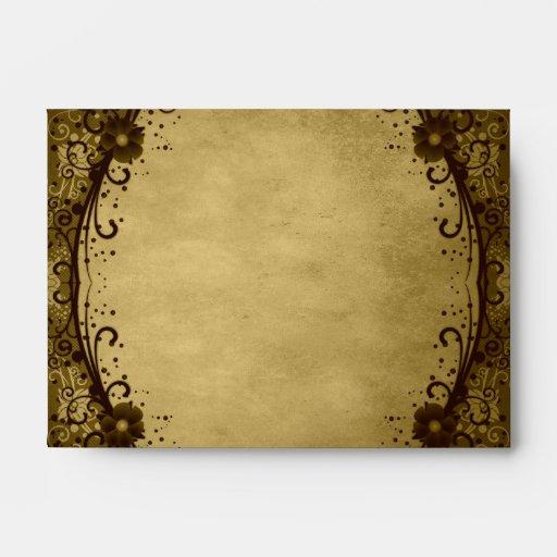 Floral Lace Envelope (A6)