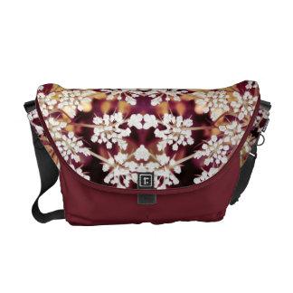 Floral Lace Messenger Bag