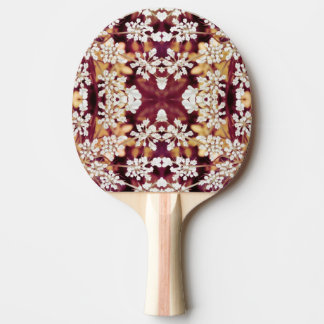 Floral Lace Ping-Pong Paddle