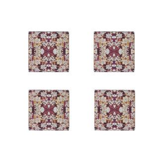 Floral Lace Stone Magnet