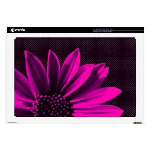 floral laptop decal
