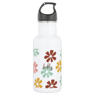 Floral Liberty 18oz Water Bottle