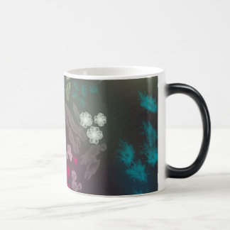 Floral life explosion - dark magic mug