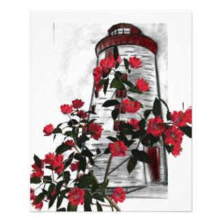 Floral Lighthouse Flyer