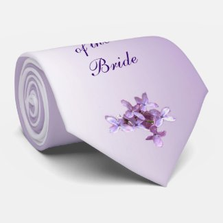 Floral Lilac Flowers Wedding Grandfather of Bride