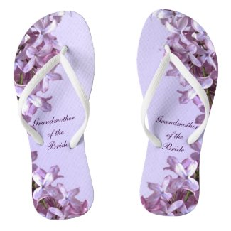 Floral Lilac Flowers Wedding Grandmother of Bride