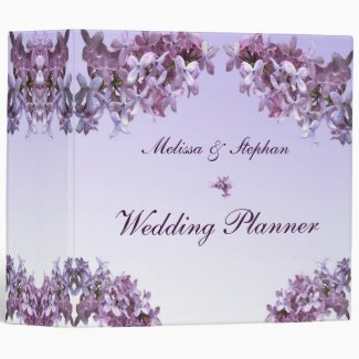 Floral Lilac Flowers Wedding Planner