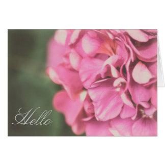 Floral - Lilacs Card