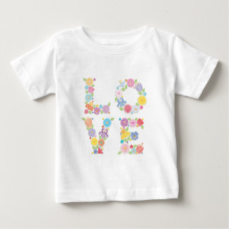 Floral LOVE Baby T-Shirt