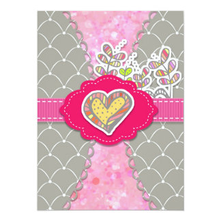 Floral Love Invitation for All Occasions