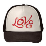 Floral Love Letters - customizable hat