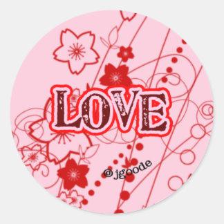 Floral Love Sticker