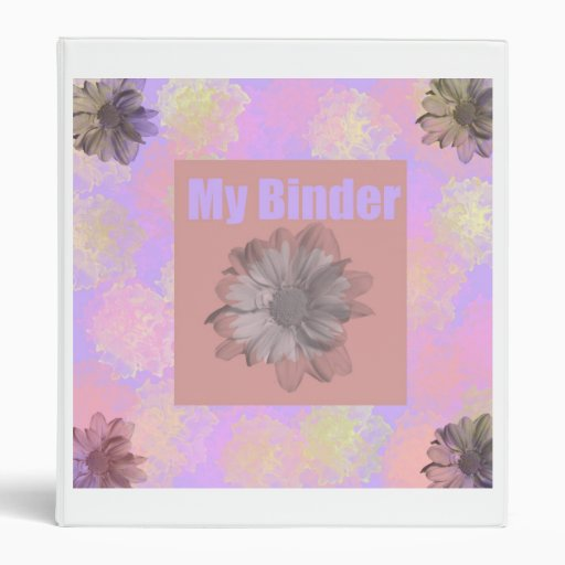 Floral LoveBlush Binder Cover