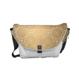 Floral luxury mandala pattern small messenger bag