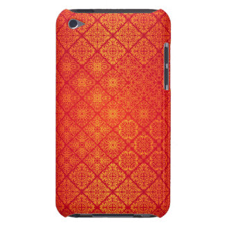 Floral luxury royal antique pattern barely there iPod case
