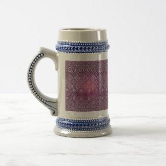 Floral luxury royal antique pattern beer stein