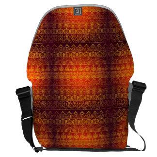 Floral luxury royal antique pattern courier bag