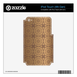 Floral luxury royal antique pattern iPod touch 4G skins